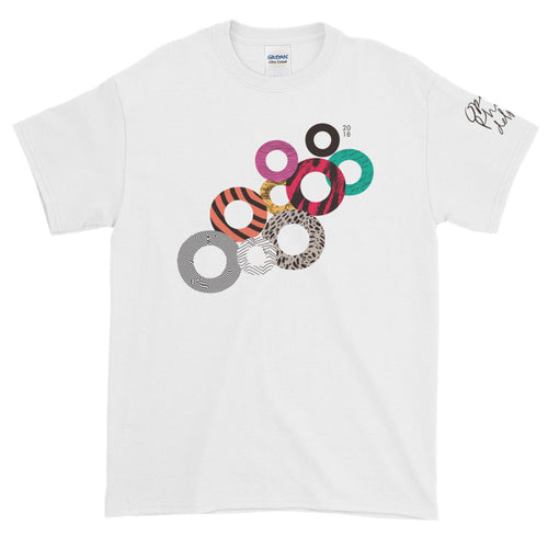 O18 T-Shirt (Multi-Color on White)