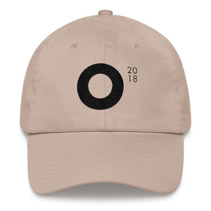 Festival O18 Cap (Black on Stone)