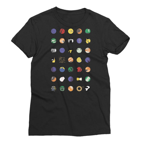 O17 Women's Short Sleeve T-Shirt: Black