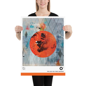 The Love for Three Oranges Poster