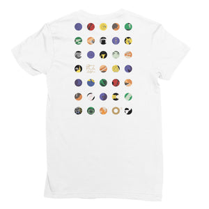 O17 Women's Short Sleeve T-Shirt: White