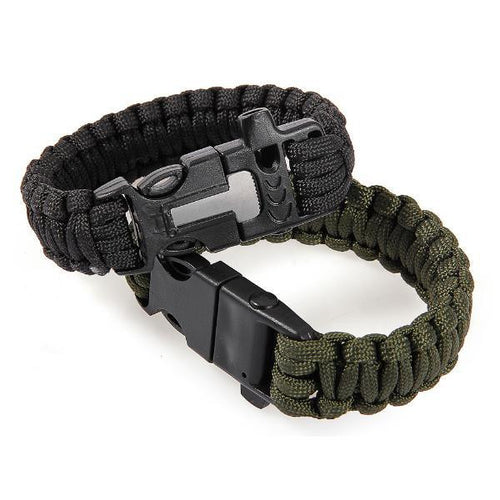 Paracord Bracelet (With Fire-starter)