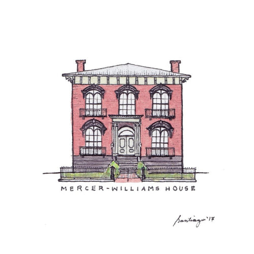 Mercer-Williams House - Art Print