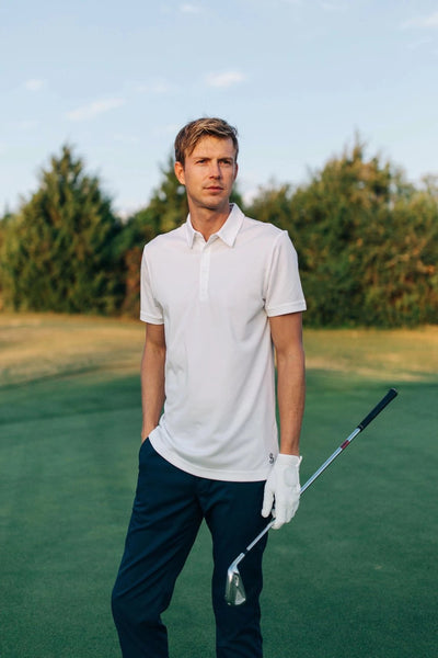 The Kingston Polo in Brilliant White