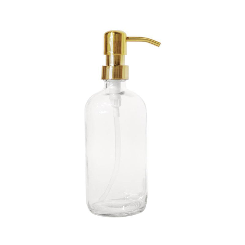 16 oz Glass Bottle with Specialty Pump