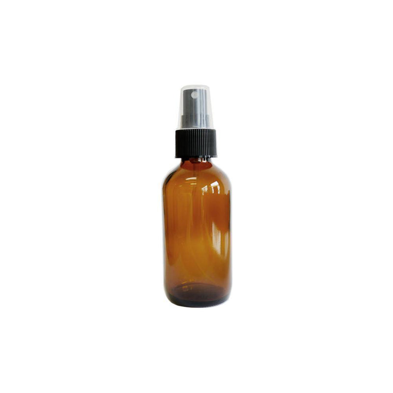 4 oz Amber Glass Spray Bottle