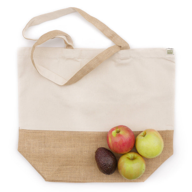 Recycled Canvas/Jute Tote