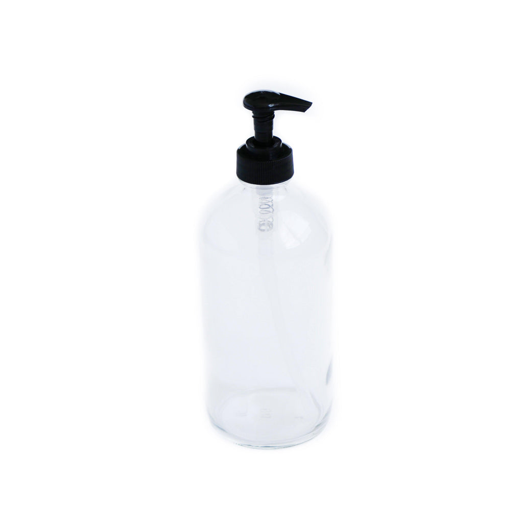 16 oz  Clear Pump Bottle