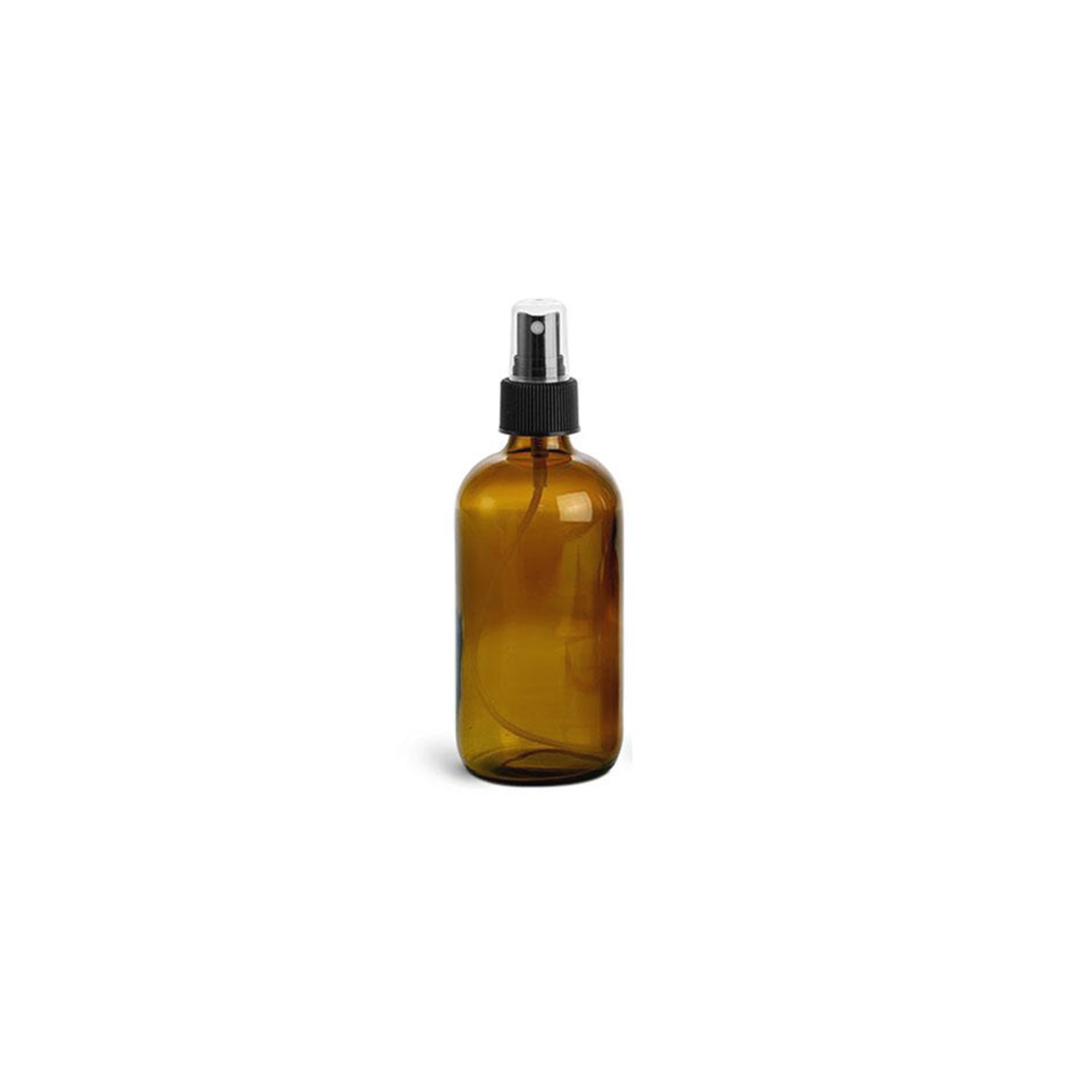 8 oz Amber Spray Bottle