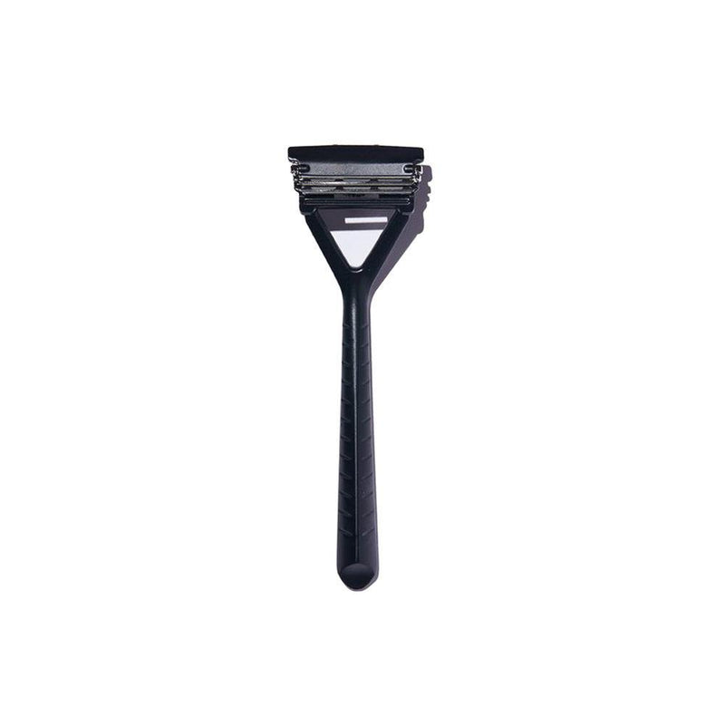 Matte black Pivoting Triple Blade Razor by Leaf - The Good Fill