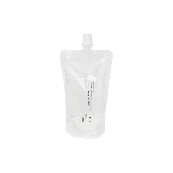 product image of clear zero waste refill pouch for package free castile soap  refills