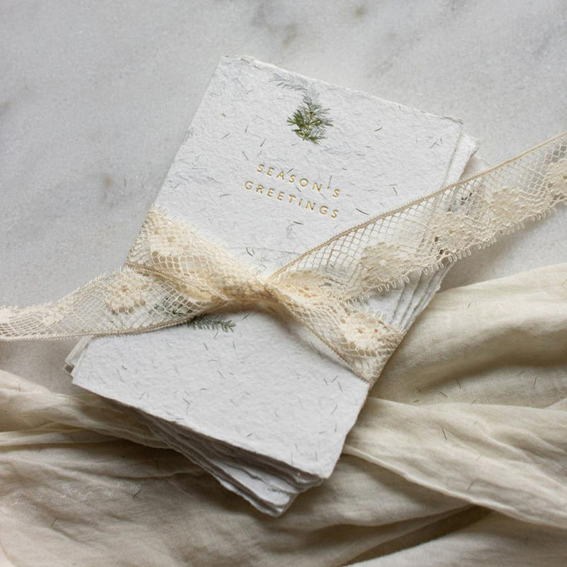 Recycled Cotton Holiday Cards