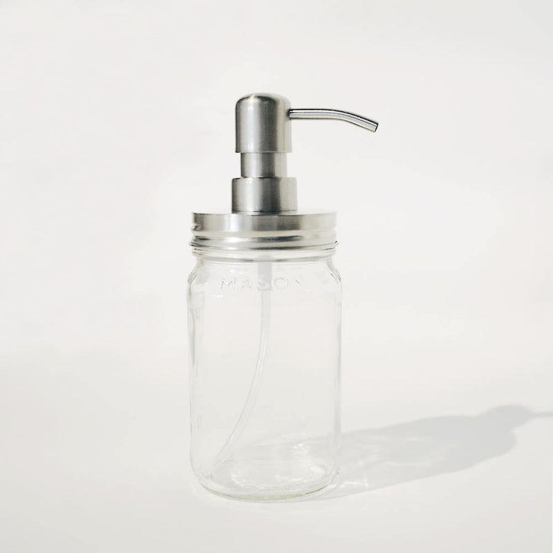 Rust-Free Mason Jar Pump