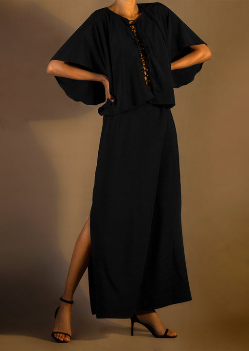 Pre-Order  Silk Asymmetric Maxidress