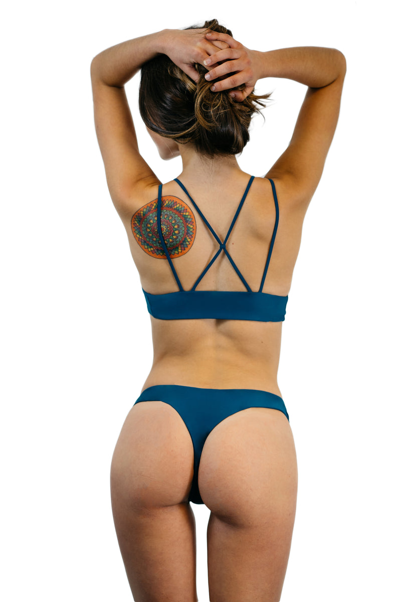 Teal Blue Coronado Bottom