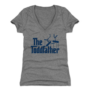 Todd Frazier Women's V-Neck T-Shirt | 500 LEVEL