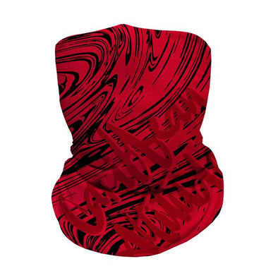 Red Marble - Faceshield