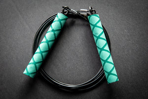 Kuhlwhip Speed Rope- X Grip Green
