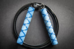 Kuhlwhip Speed Rope- X Grip Blue
