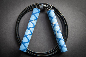 Kuhlwhip Speed Rope- X Grip Blue (OUT OF STOCK)