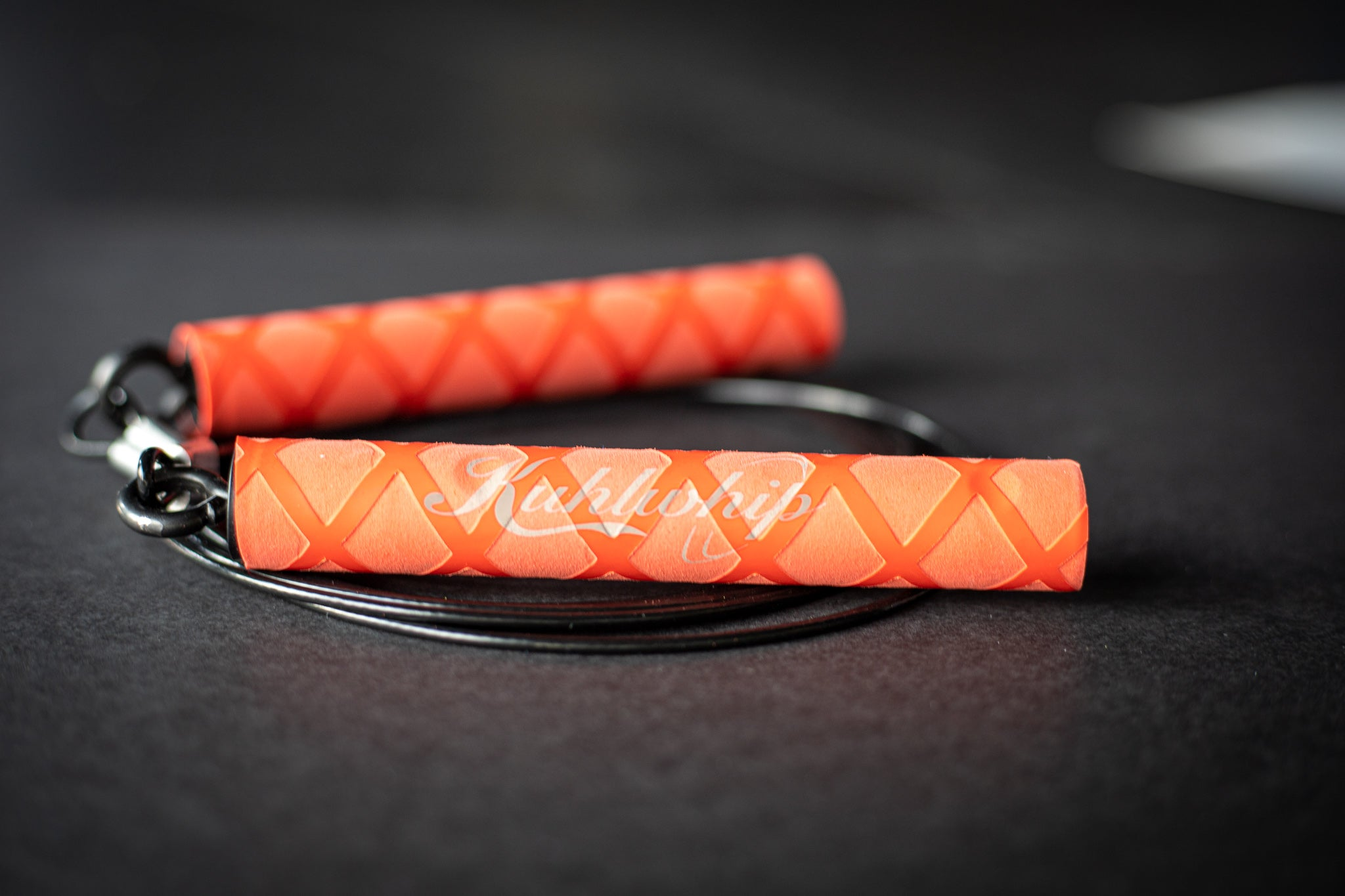 Kuhlwhip Speed Rope- X Grip Red