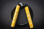 Kuhlwhip Speed Rope- X Grip Yellow