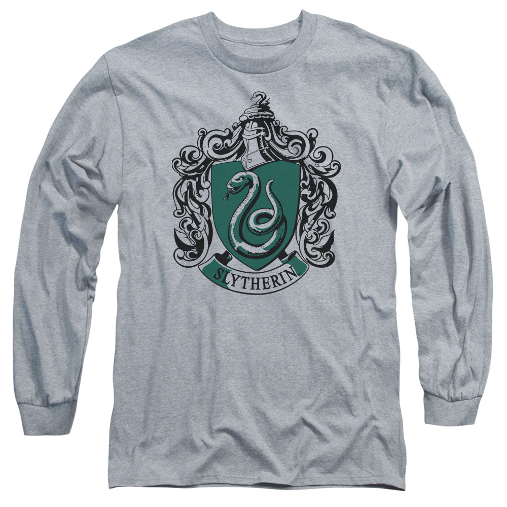 Harry Potter - Slytherin Crest Long Sleeve Adult 18/1