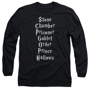 Harry Potter - Titles Long Sleeve Adult 18/1
