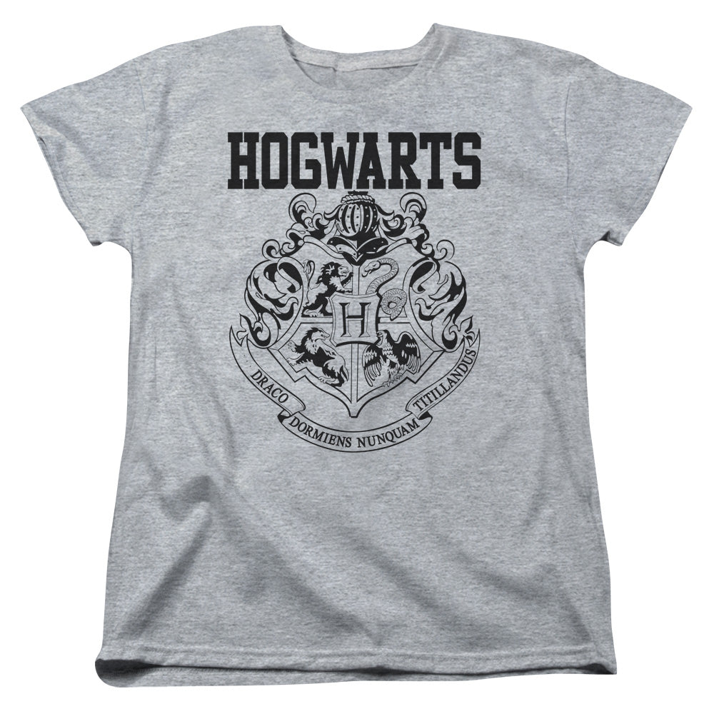 Harry Potter - Hogwarts Athletic Short Sleeve Women's Tee