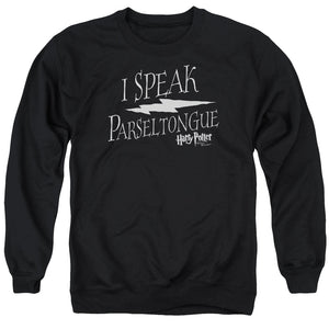 Harry Potter - I Speak Parseltongue Adult Crewneck Sweatshirt
