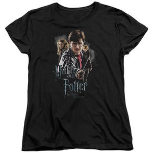 Harry Potter - Deathly Hollows Cast Short Sleeve Women's Tee