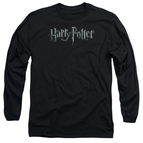 Harry Potter - Logo Long Sleeve Adult 18/1