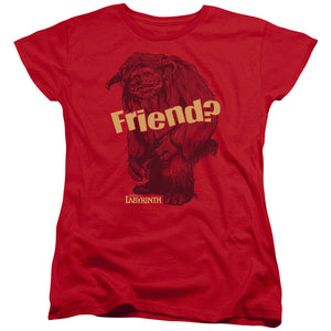 "Labyrinth - ""Ludo Friend"" (Women's Tee)"