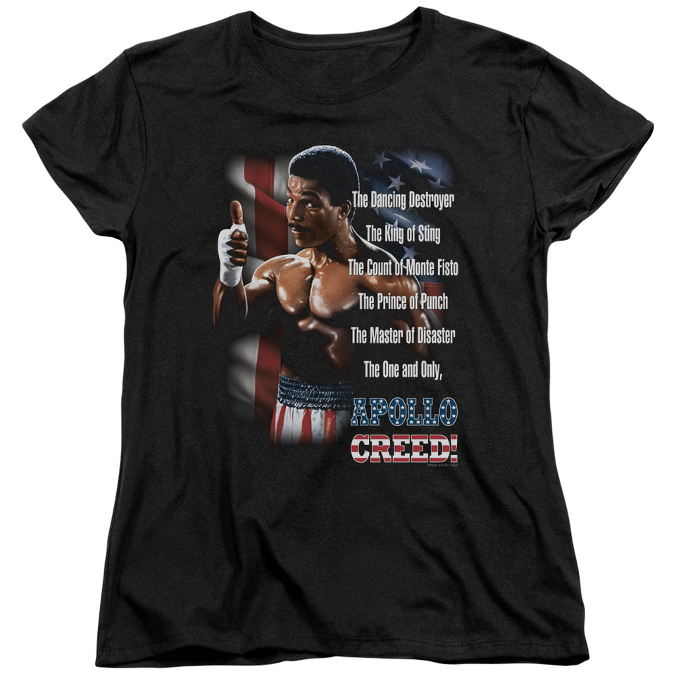 "Rocky 2 - ""The One And Only"" (Women's Tee)"