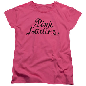 "Grease - ""Pink Ladies Logo"" (Women's Tee)"