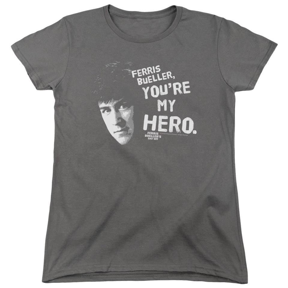 "Ferris Bueller - ""My Hero"" (Women's Tee)"