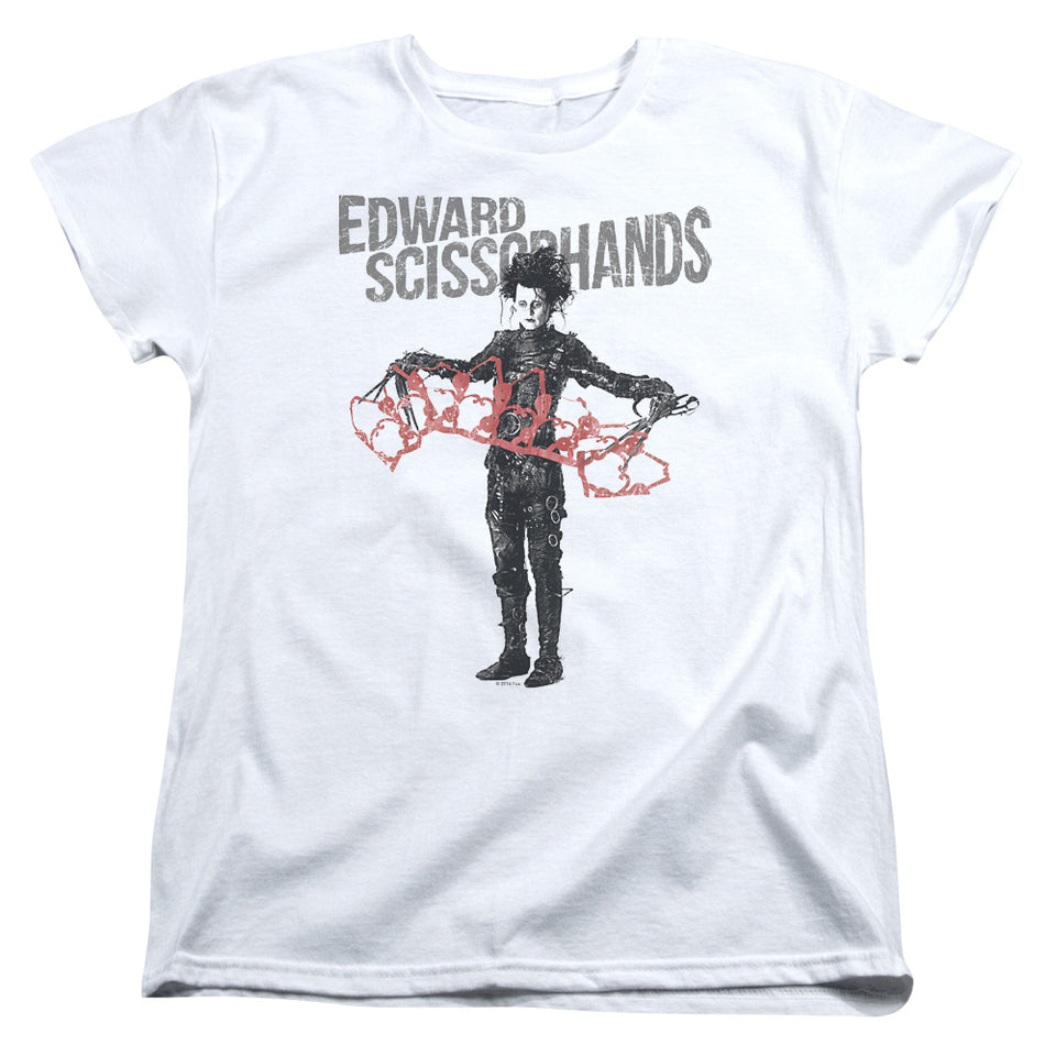 "Edward Scissorhands - ""Show & Tell"" (Women's Tee)"