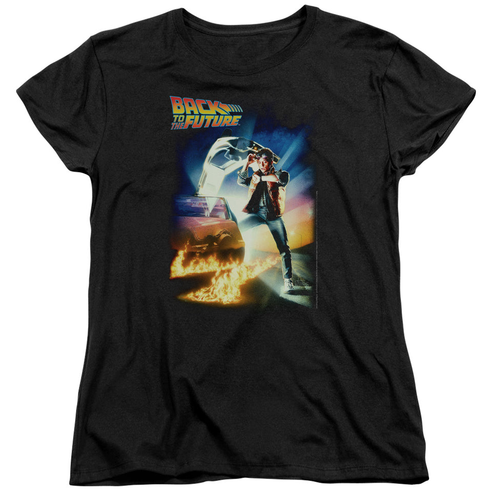 "Back To The Future - ""Poster"" Women's Tee"