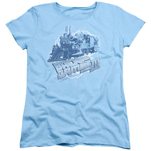 "Back To The Future 3 - ""Time Train"" (Women's Tee)"