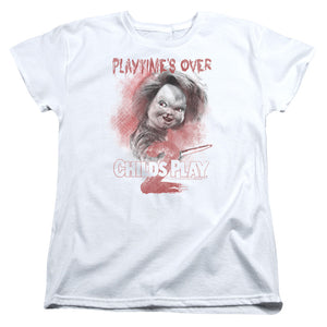 "Childs Play 2 - ""Playtimes Over"" (Women's Tee)"