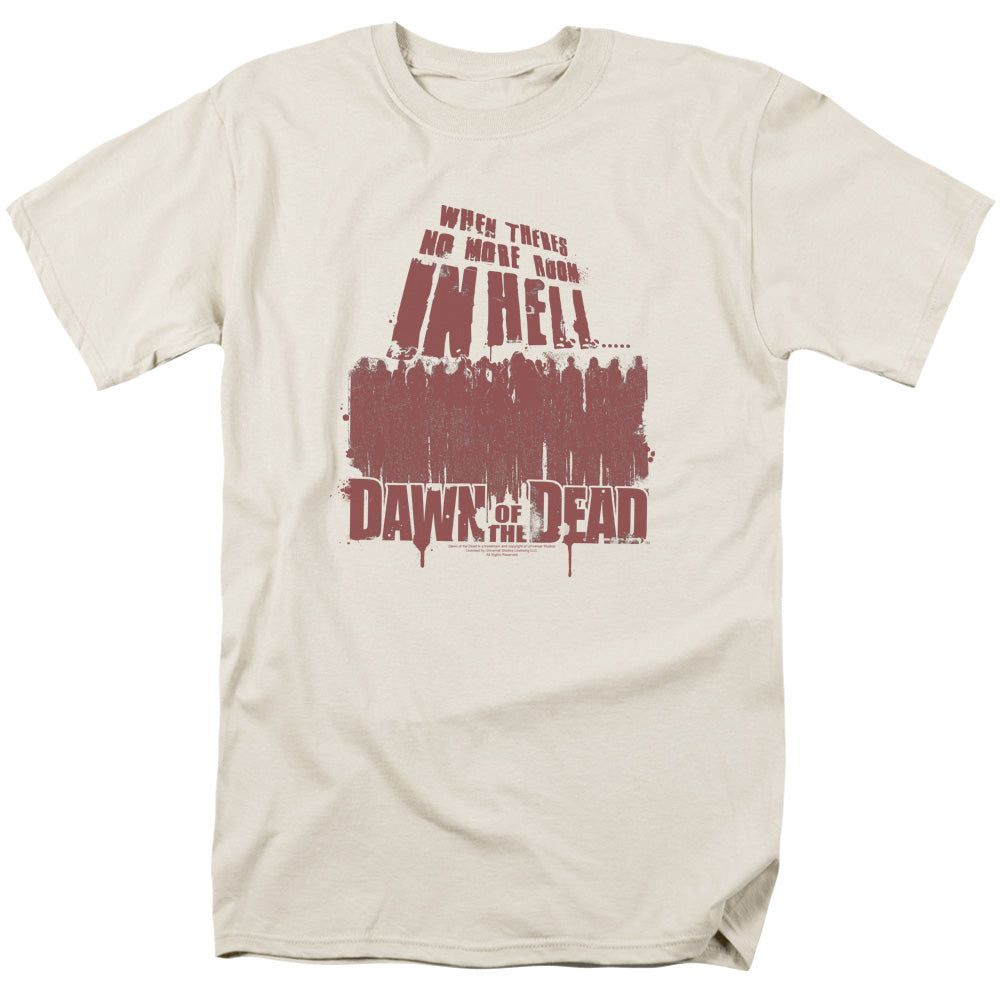 Dawn Of The Dead - No More Room Short Sleeve Adult 18/1