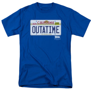 "Back To The Future - ""Outatime Plate"""