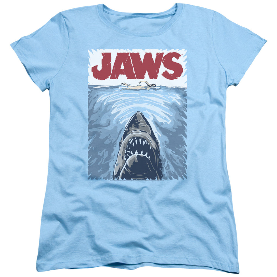 "Jaws - ""Graphic Poster"" (Women's Tee)"