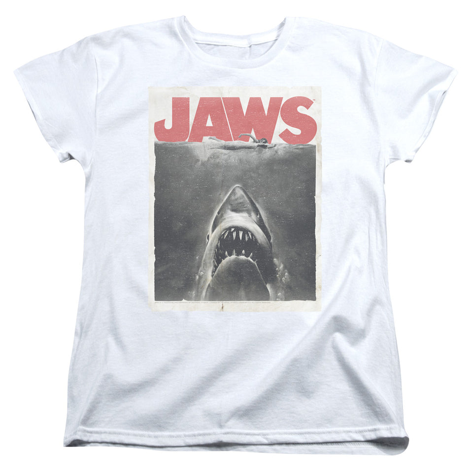 "Jaws - ""Classic Fear"" (Women's Tee)"
