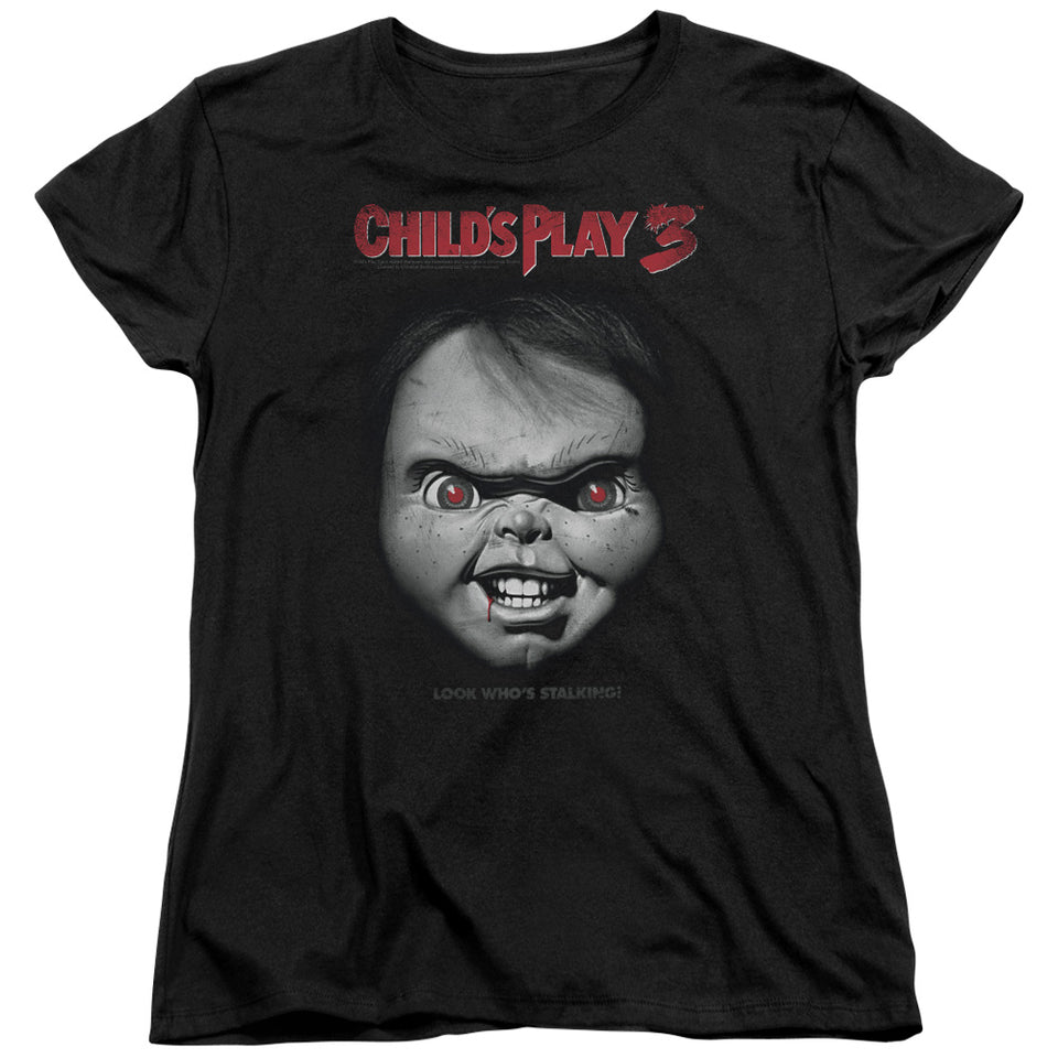 "Childs Play 3 - ""Face Poster"" (Women's Tee)"