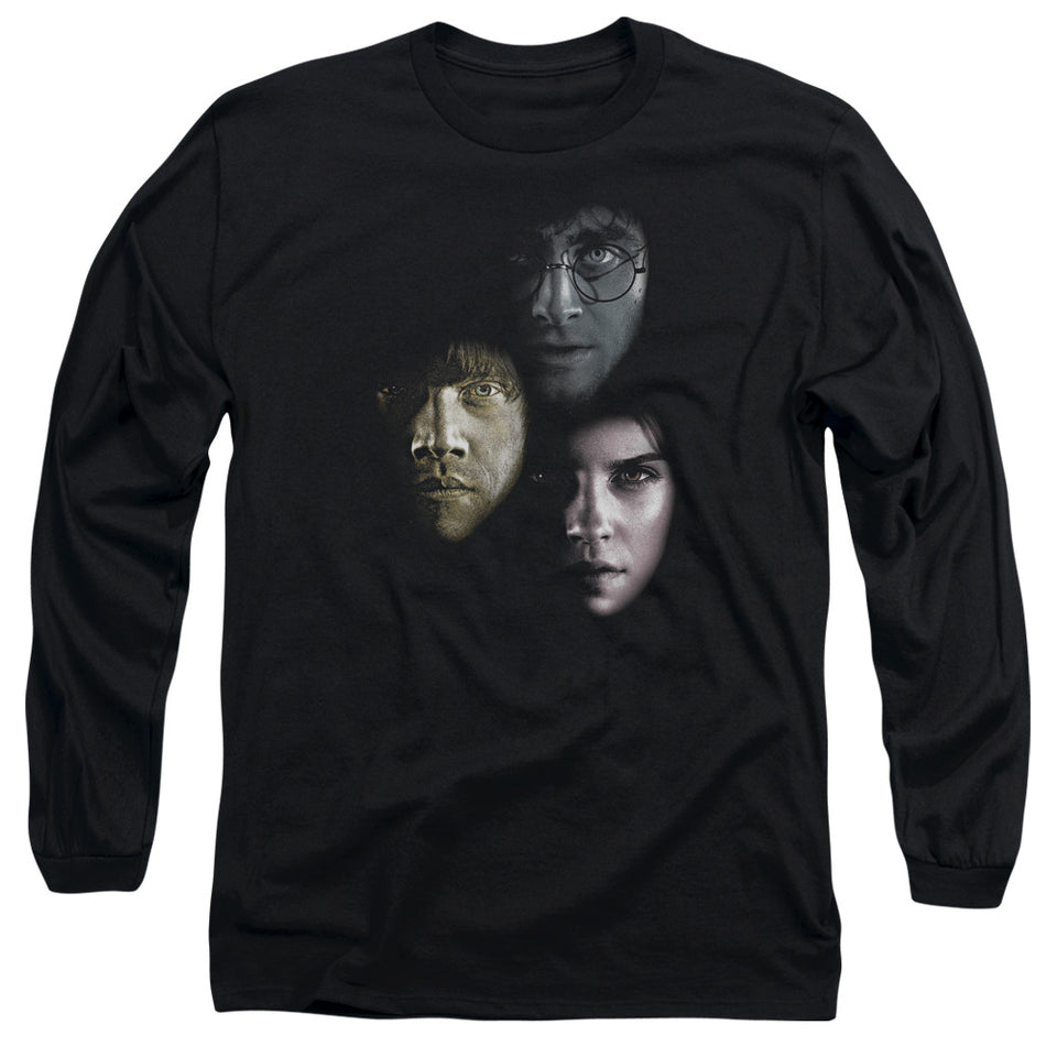 Harry Potter - Hero Heads Long Sleeve Adult 18/1