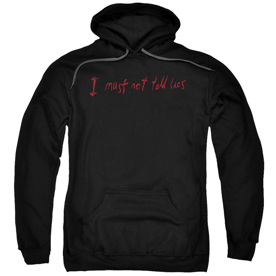 Harry Potter - Not Tell Lies Adult Pull Over Hoodie