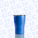 12oz CURVY TUMBLER W/ STRAW - COLORS