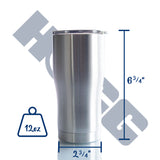 20oz MODERN CURVE TUMBLER CASE (25 UNITS)