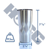 ***CLOSEOUT*** 20oz TWISTED TUMBLER